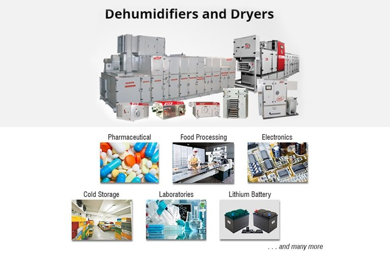 Dehumidifiers and Dryers