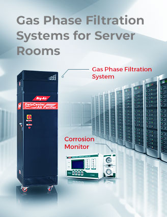 Gas Phase Filtration Systems for Server Rooms