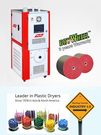 Leader in Plastic Dryers Since 1978 in Asia & North America