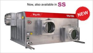 Commercial and Industrial Desiccant Dehumidifier in SS