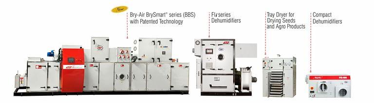 Bry-Air Dehumidifier Range for Food Industry